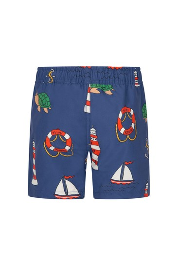Boys Navy Swim Shorts