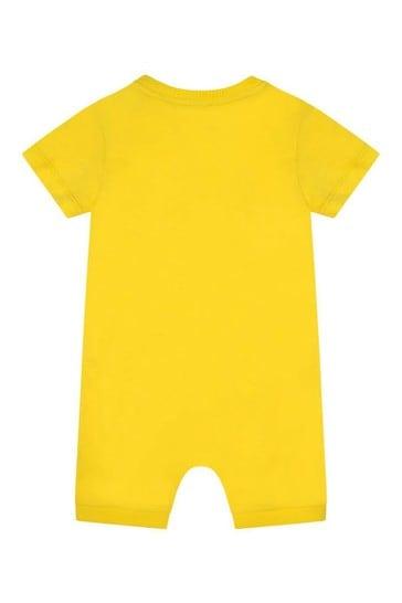 Teddy Logo Baby Romper