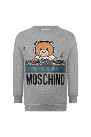 Boys Fleece Teddy DJ Sweater