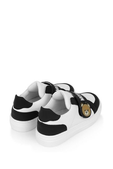 Unisex Leather Teddy Trainers