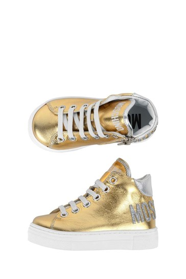 Girls High Top Trainers