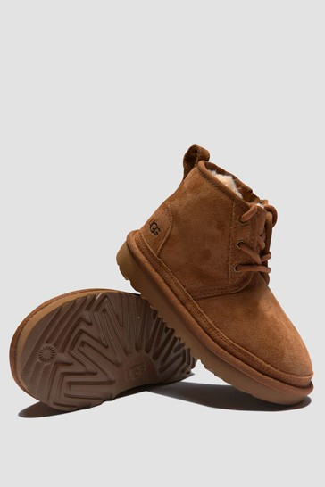 Boys Brown Neumel Boots
