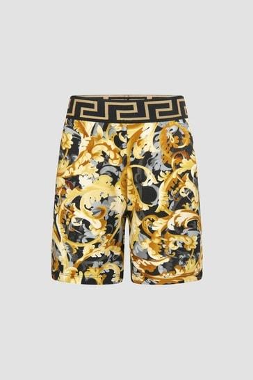 Boys Black Shorts