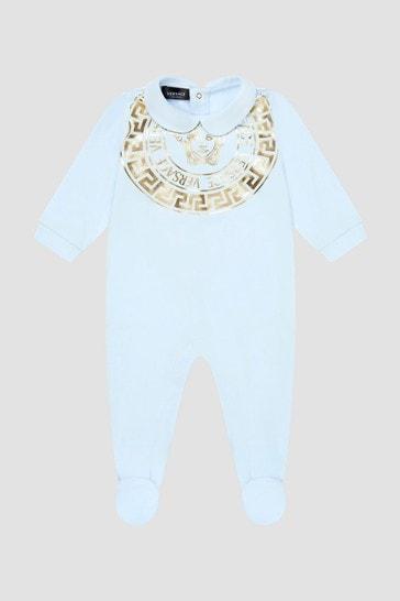 Baby Boys Blue Sleepsuit Gift Set