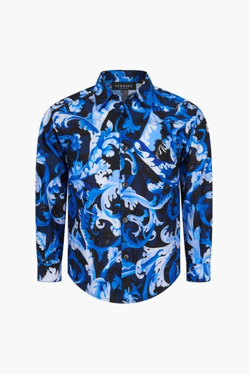 Boys Blue Shirt