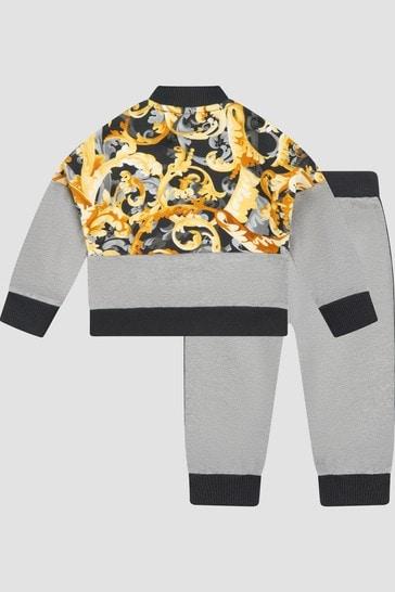 Baby Boys Grey Tracksuit