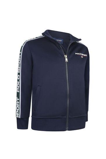 Boys Polo Sport Track Jacket