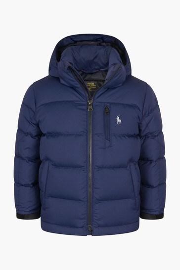 Boys Jacket With Detachable Hood