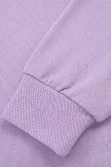 Girls Purple Hoodie