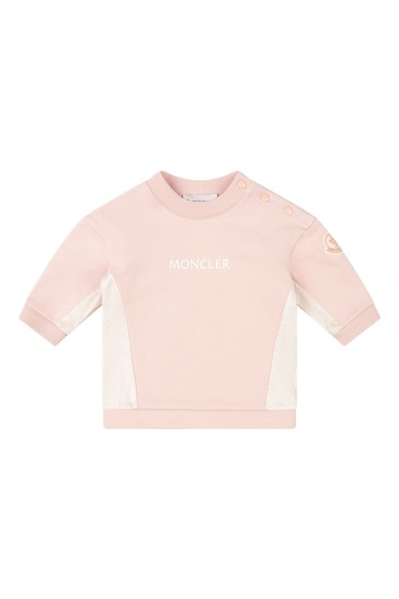 Baby Girls Pink Tracksuit