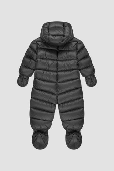 Baby Boys Black Kimete Snowsuit