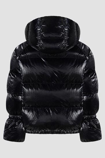 Girls Black Herince Jacket