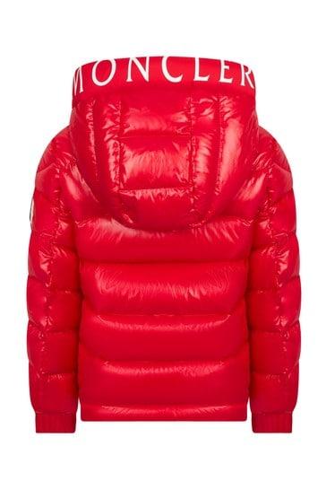 Boys Red Salzman Jacket
