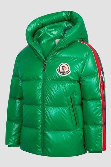 Boys Green Dincer Jacket