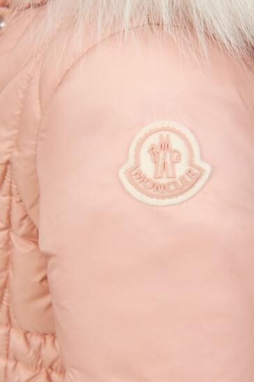 Baby Girls Pink Ekin Long Parka