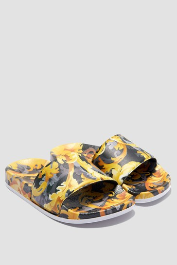 Kids Black Sandals