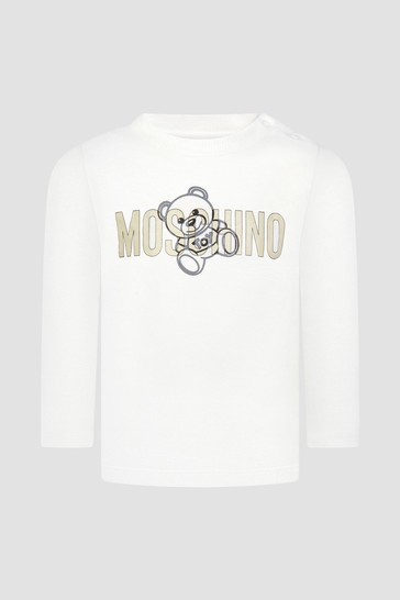 Baby Unisex White T-Shirt