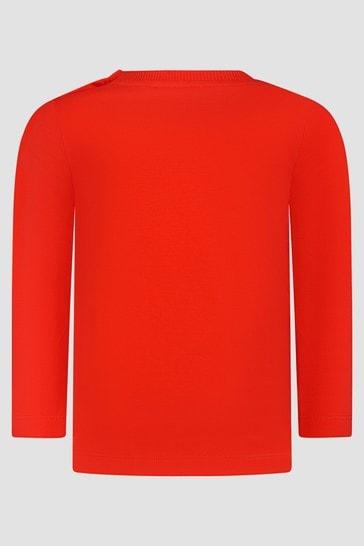 Baby Unisex Red T-Shirt