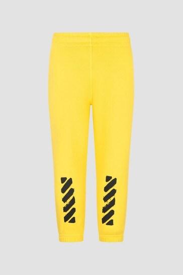 Boys Yellow Joggers
