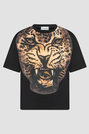 Girls Leopard Print T-Shirt