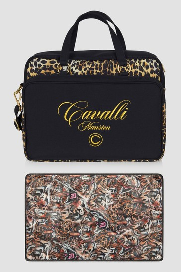 Baby Leopard Print Changing Bag