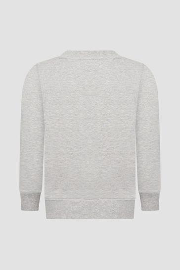 Boys Grey Sweat Top