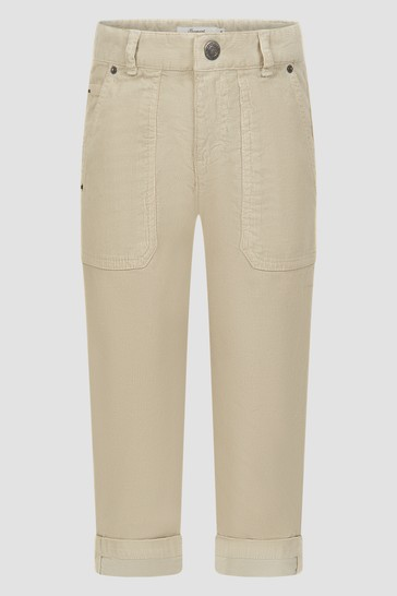 Boys Ecru Trousers