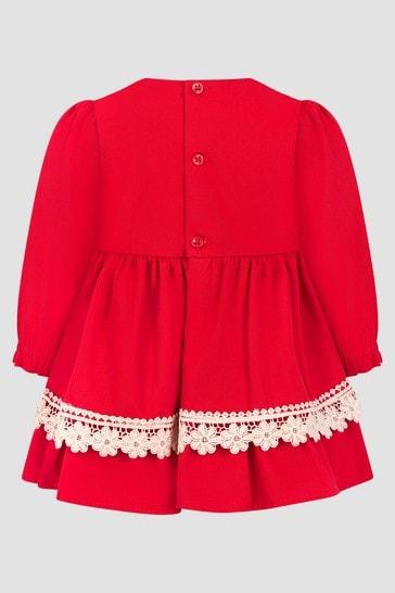 Baby Girls Red Dress