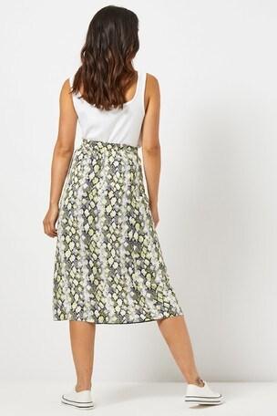 10e3922f3 Buy Dorothy Perkins Petite Snake Print Midi Skirt from the Next UK ...