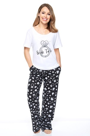 bf151d99a Buy Want That Trend Bride to Be Pyjama Set from Next Kuwait