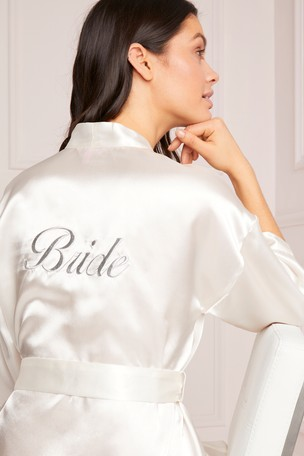 various design website for discount more photos Buy Lipsy Satin Bridal Robe from Next Netherlands