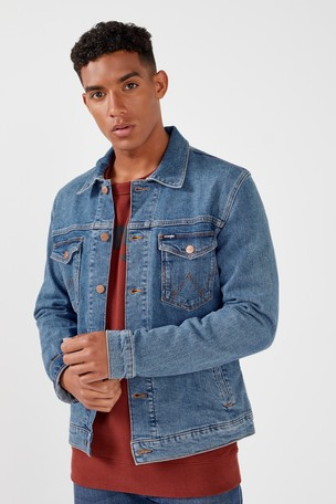 396829f26a Buy Wrangler Heritage Denim Jacket from the Next UK online shop