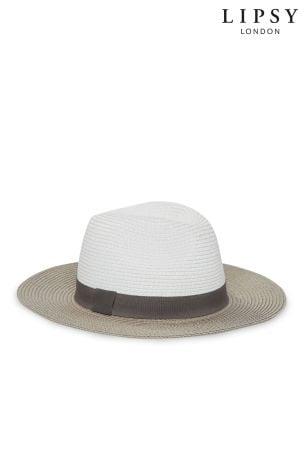 7d754220b92 Lipsy Straw Fedora Summer Hat