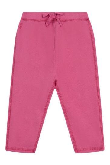 Baby Girls Pink Cotton 2 Piece Set