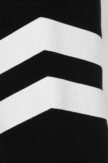 Boys Black & Silver Cotton Sweater