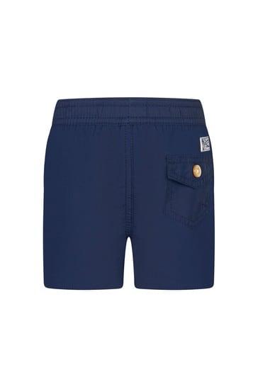 Baby Boys Navy Swim Shorts