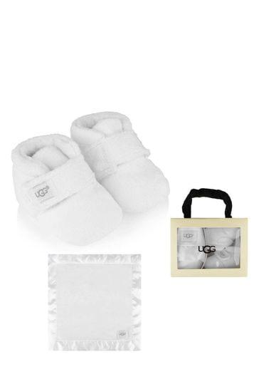 Bixbee Booties \u0026 Lovey Blanket Gift Set