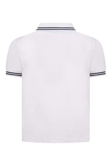 Boys Cotton Pique Polo Top