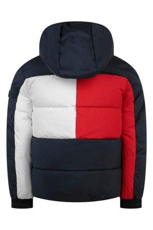 소년 해군 플래그 후드 재킷