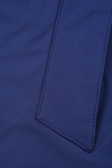 Boys Navy Zip Up Jacket
