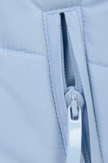 Boys Pale Blue Padded Jacket