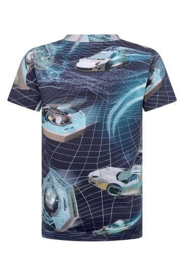 Boys Organic Cotton Time Machines T-Shirt
