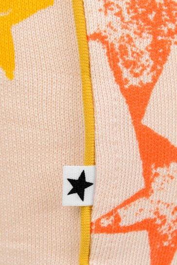 Baby Girls Pink Organic Cotton Star Joggers