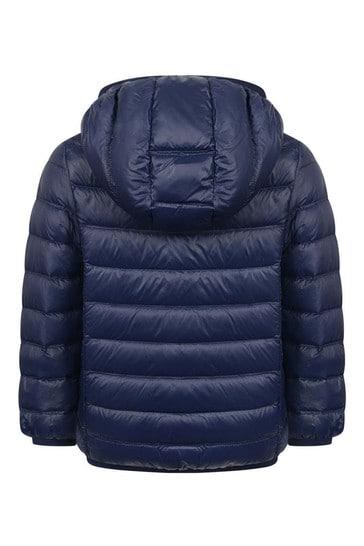 보이즈 네이비 라이트급 다운 패딩 재킷