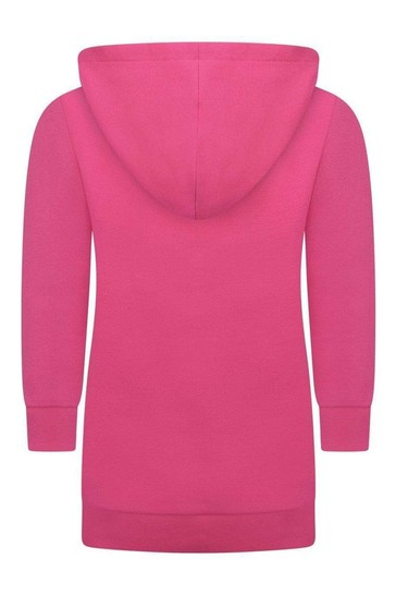 Girls Pink Sweater Dress