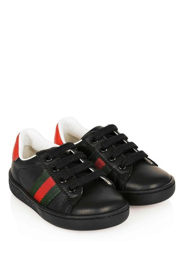Kids Leather Trainers