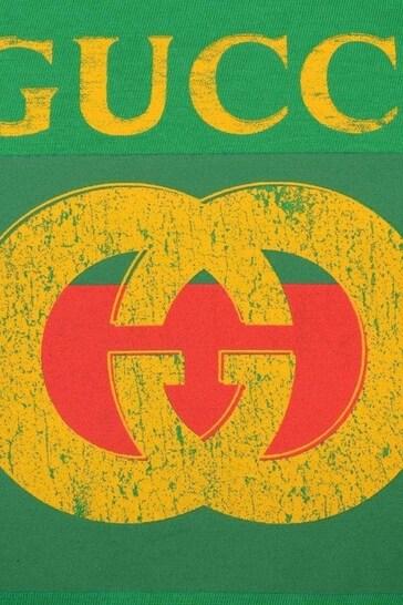 Logo Print Cotton Top