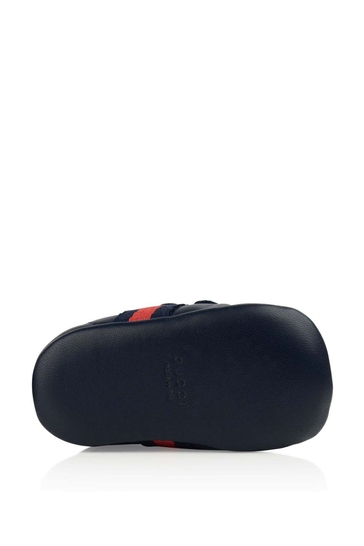 Leather Pre Walker Trainers