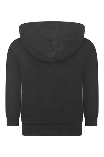 Logo Print Hooded Sweater