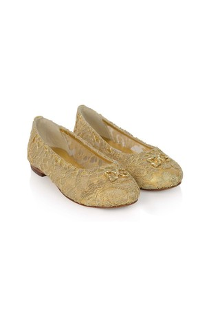 Girls Lace Ballerina Shoes